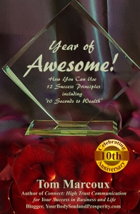 "Powerful InstaMaxPro techniques in Tom Marcoux's book ""Year of Awesome!"""